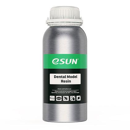 בקבוק שרף דנטלי איכותי בצבע שקוף מתוצרת eSUN למדפסות DLP/SLA