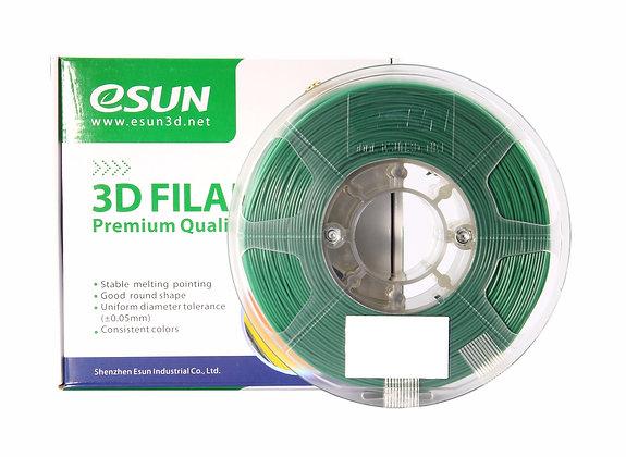 גליל פילמנט איכותי מתוצרת eSUN מסוג eLastic בצבע ירוק