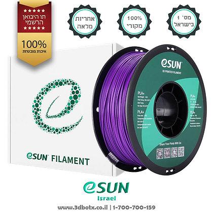 גליל פילמנט איכותי מתוצרת Esun מסוג PLA+ בצבע סגול