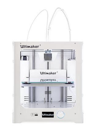 מדפסת תלת מימד מדגם Ultimaker 3