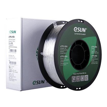 גליל פילמנט איכותי מתוצרת eSUN מסוג eTPU-95A בצבע שקוף