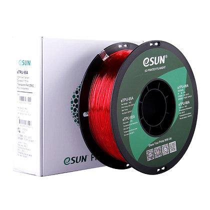 גליל פילמנט איכותי מתוצרת eSUN מסוג eTPU-95A בצבע אדום