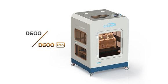 מדפסת תלת מימד מדגם CreatBot D600 Dual Head