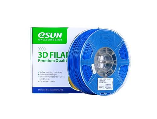 גליל פילמנט איכותי מתוצרת eSun מסוג HIPS בצבע כחול