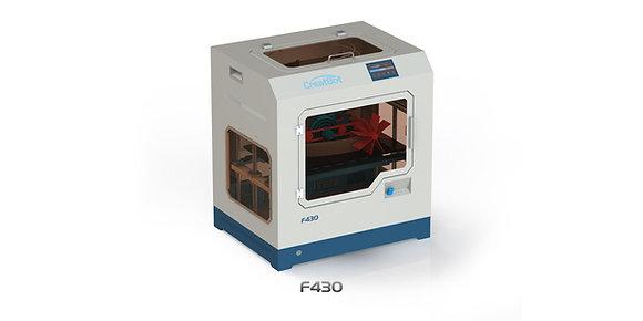 מדפסת תלת מימד מדגם CreatBot F430 Dual Head