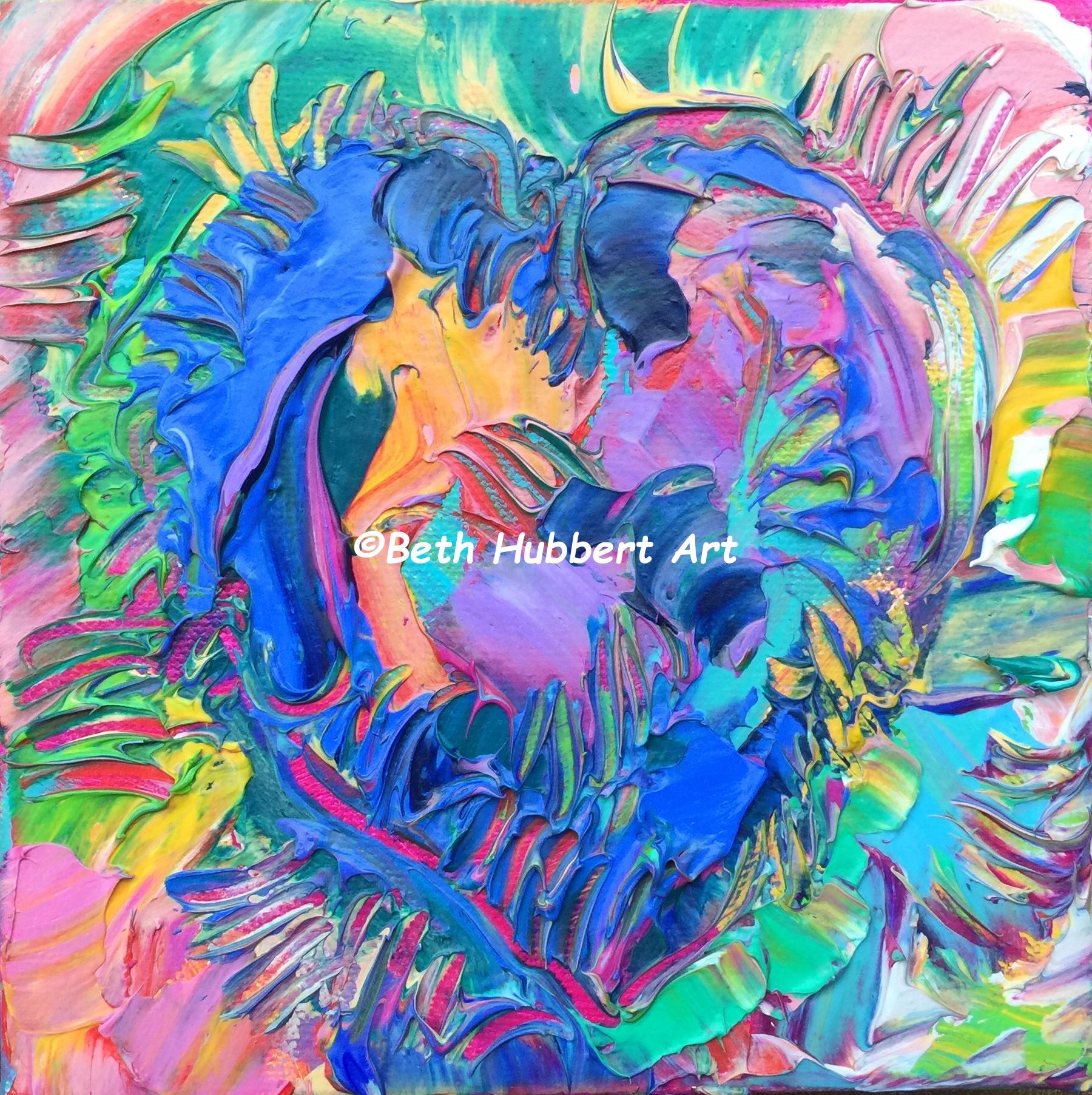 Texture Heart 7