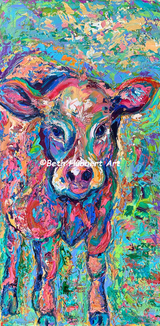 Colorful Calf   Sold   #237