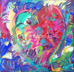 Texture Heart 6