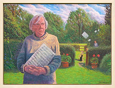 Portrait of Peter Hope, by Robert Maclaurin 20117