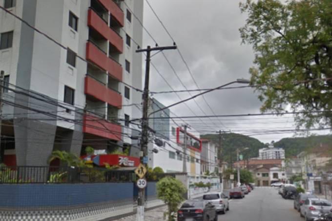 Rua Guararapes, onde ocorreu o acidente Reprodução/Google Maps/VEJA