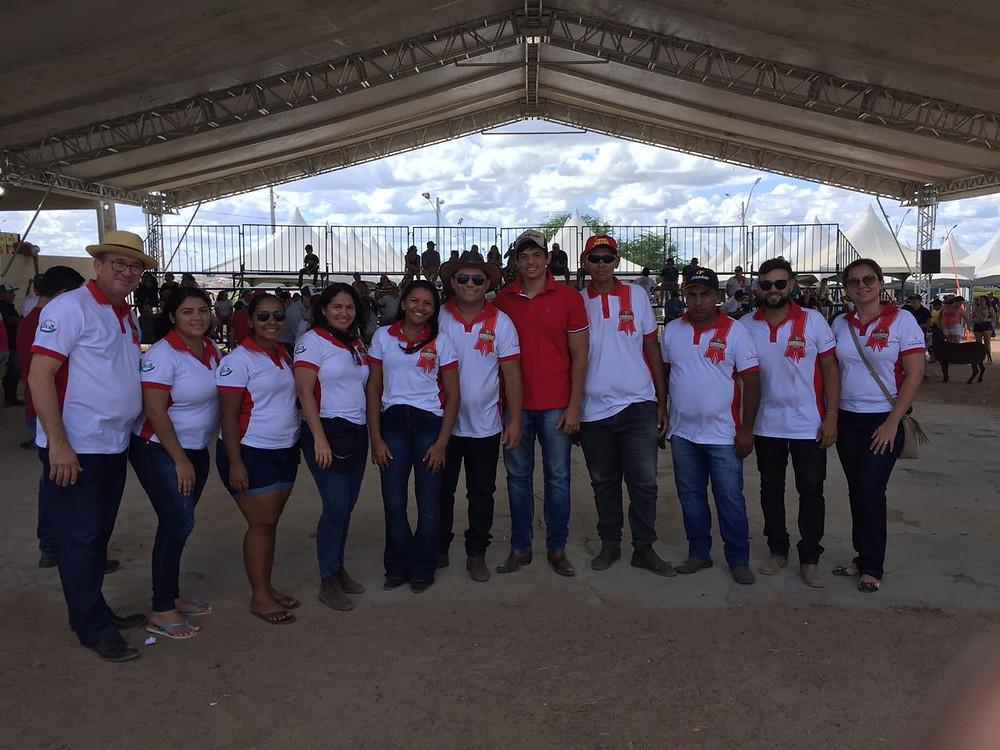 Equipe da SPOCAMPO de Caraúbas-RN