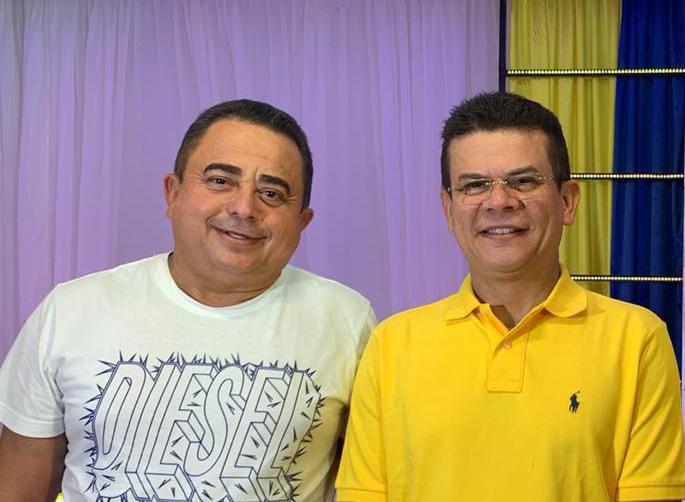 Eugênio e Juninho, as duas maiores lideranças políticas de Caraúbas-RN
