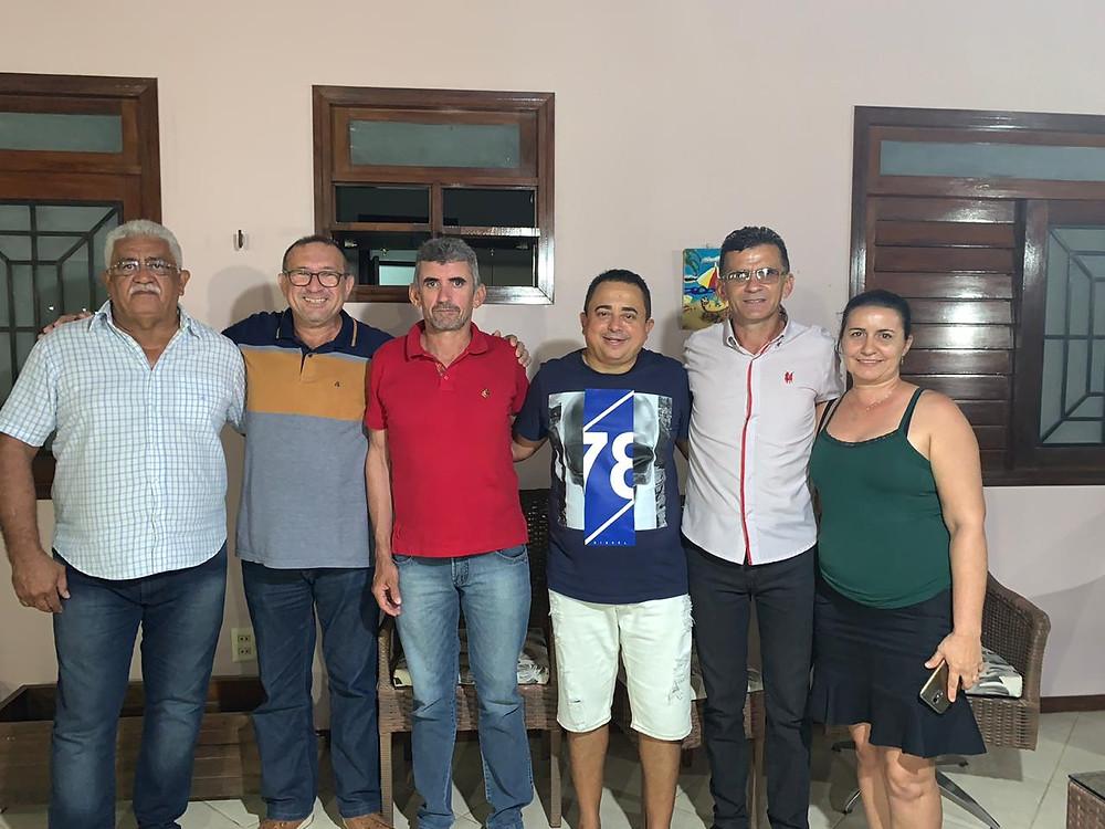 Ex-vereador Serginho do Pedrês e família apoio futuro projeto de reeleição de Juninho Alves