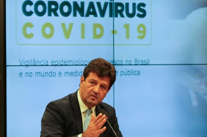 O ministro da Saúde, Luiz Henrique Mandetta Fabio Rodrigues Pozzebom/Agência Brasil