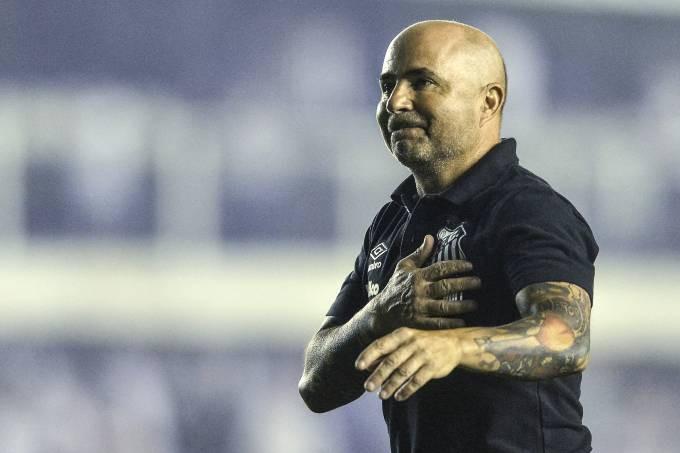 Sampaoli levou o Santos ao vice-campeonato do Brasileirão Mauro Horita/Folhapress