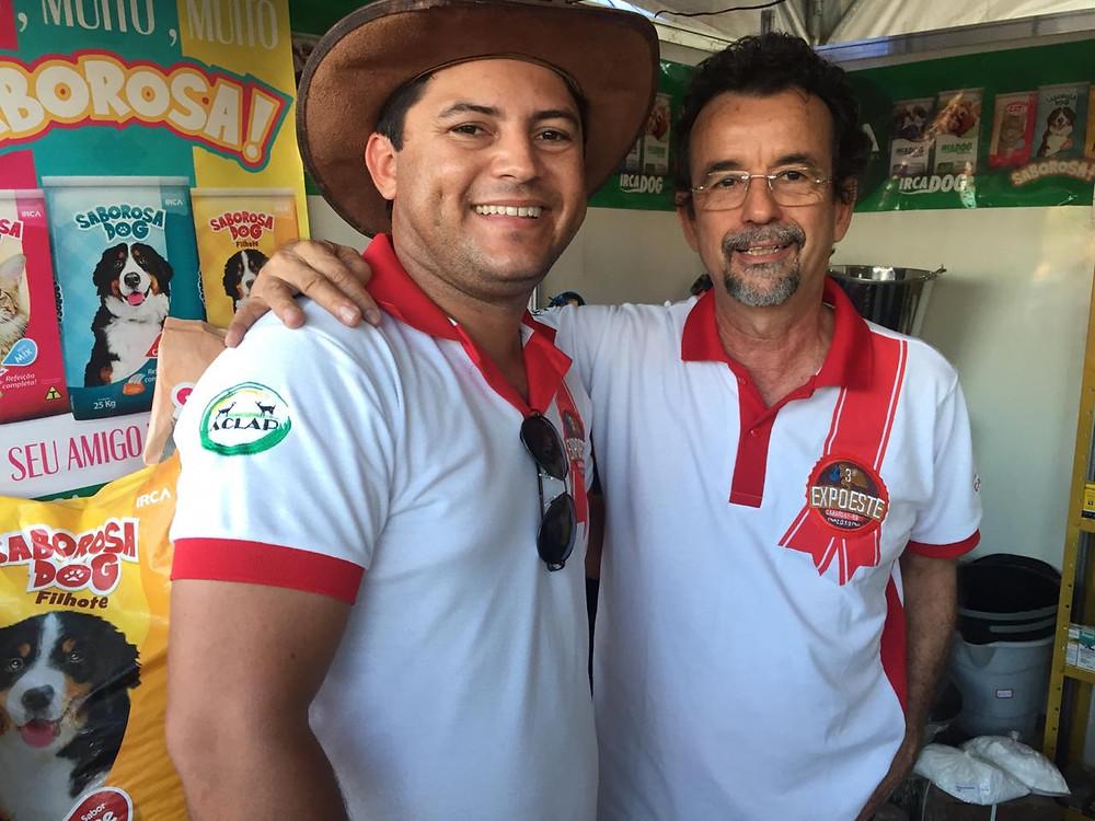 Secretário Elionaldo Benevides com o Secretário Mineiro