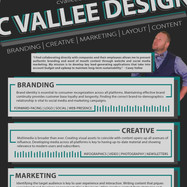 C. Vallee - Résumé Design by Casey Vallee (page 1)