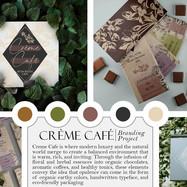 Creme Cafe Branding Project by Rachelle Sturdevant