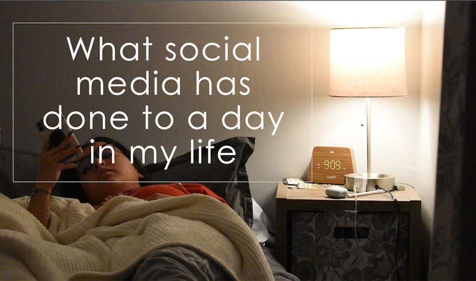 3rd Place - What Social Media Has Done To A Day In My Life