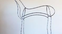Steel Deco Horse