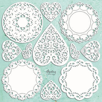 Mintay Chippies - Doilies Set