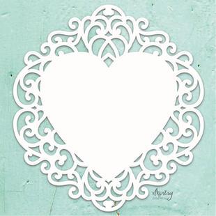 Mintay Chippies - Decor - Fancy Heart