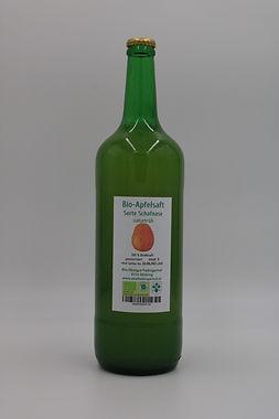Bio-Apfelsaft Schafnase