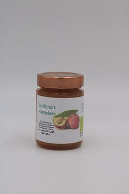 Bio-Pfirsichmarmelade