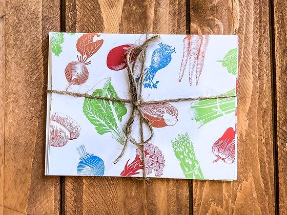 Seasonal Vegetable Cards