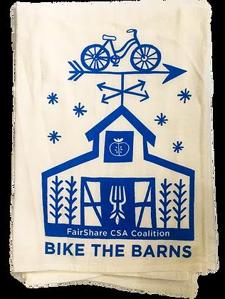 Bike the Barns Towel