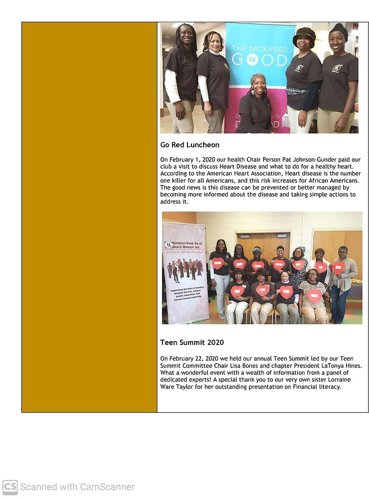 January-June 2020 NHBW Atlanta Metro New