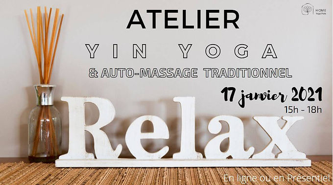 Yin yoga auto-massage
