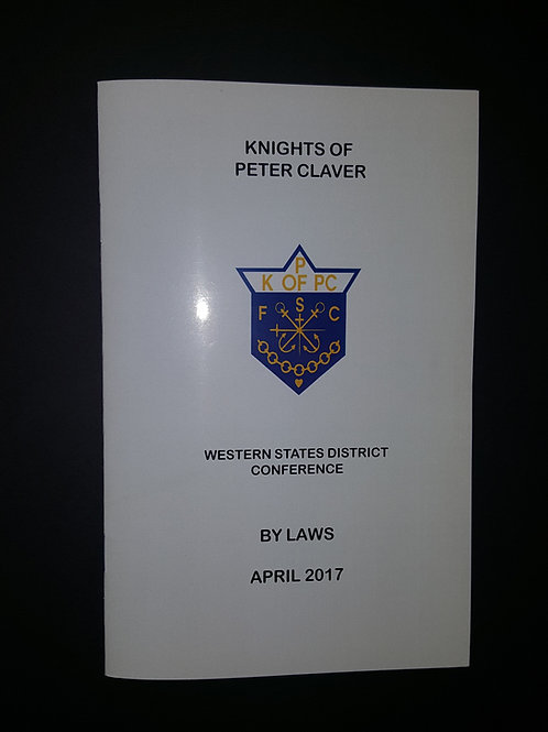 Knights' WSDC By-Laws