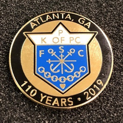 110 Year Pin