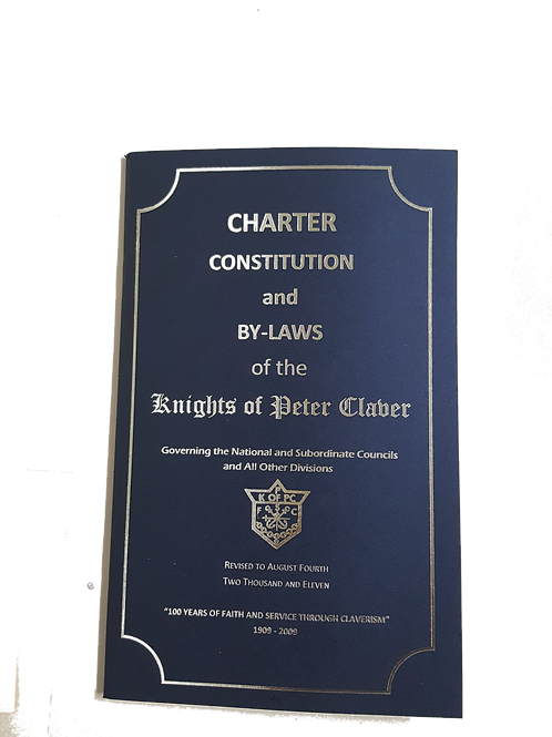 National Charter Constitution & By-Laws