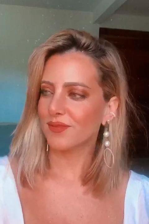 Brinco Clean Pérola Dupla