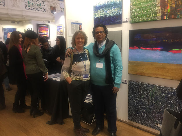 Oxford Intl Art Fair | Mueen Saheed