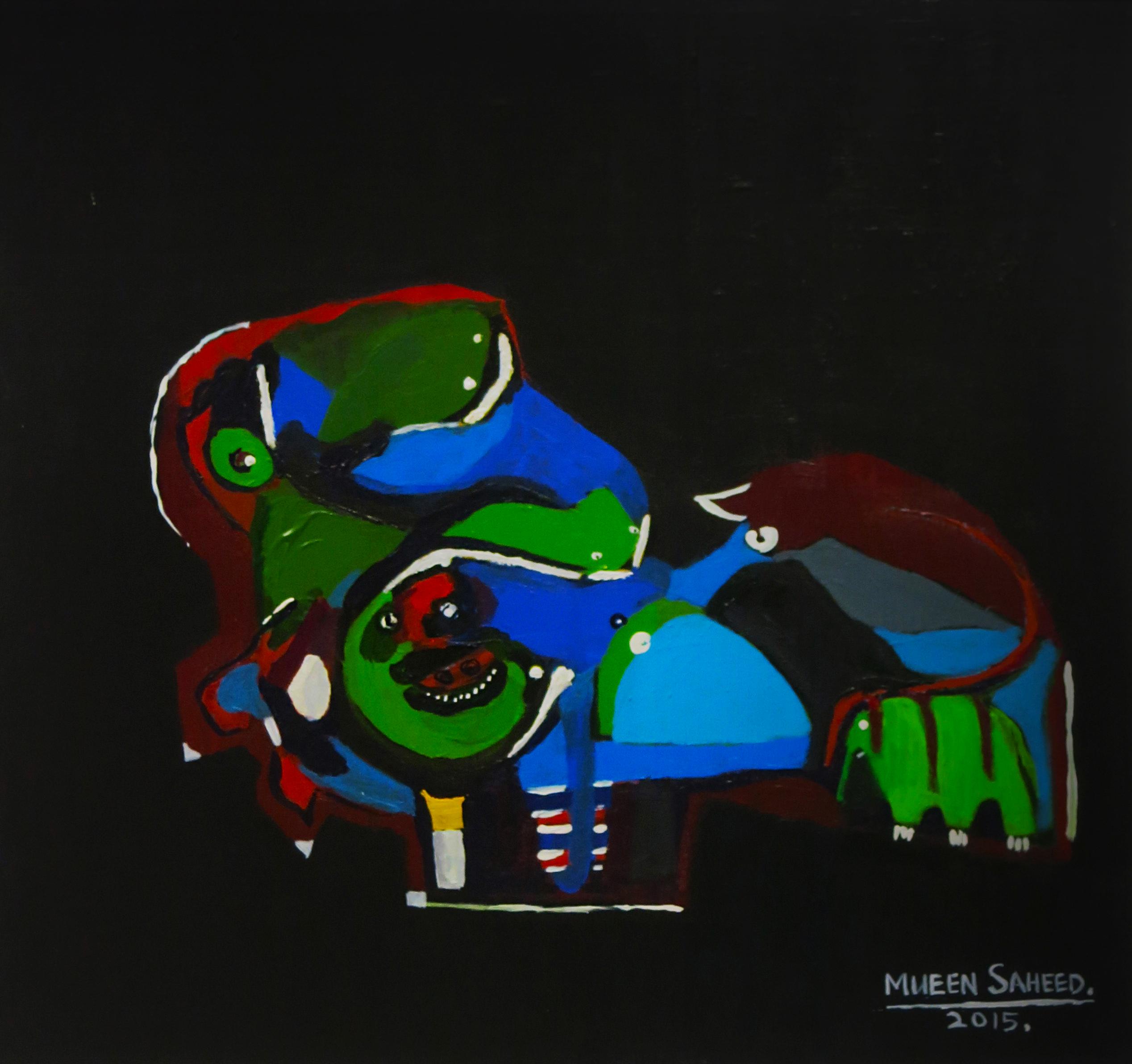 Mueen Saheed | Abstract Artist  |Con