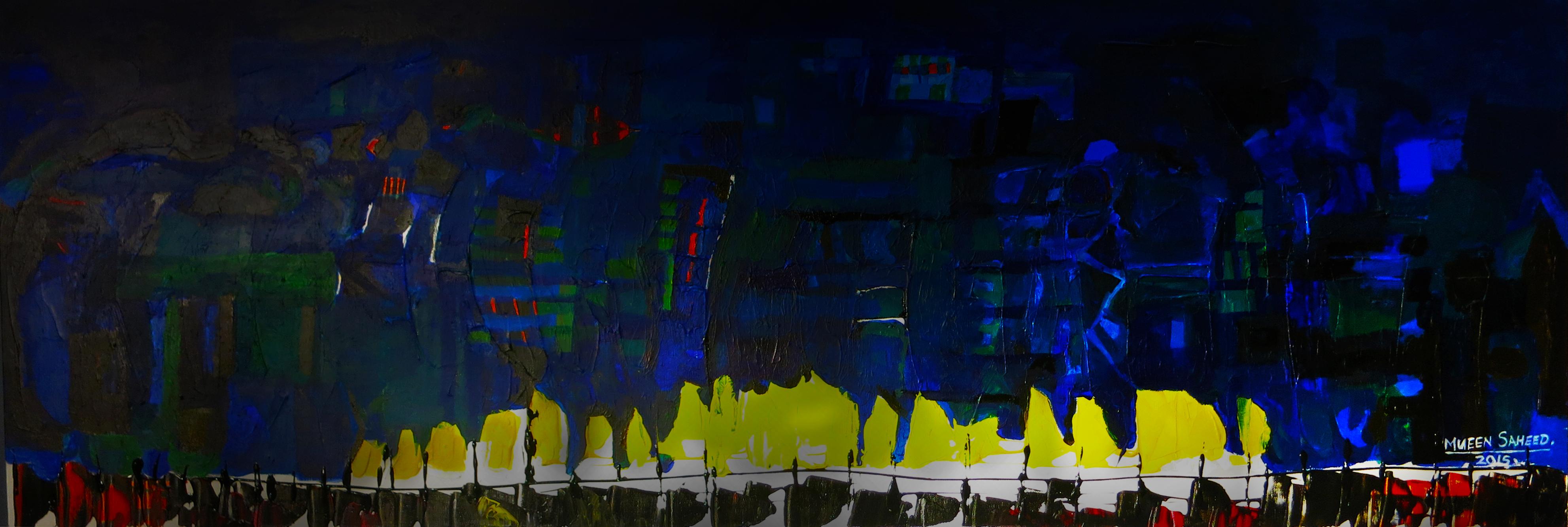 Mueen Sah Saheed | Abstract Artist