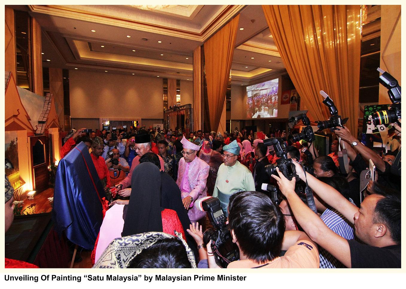 Sayu Malaysia - Painiting for Prime Minister of Malaysia