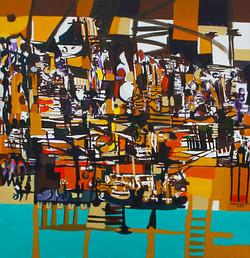 Mueen Saheed  | modern art