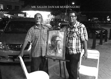 Mueen Saheed | Abstract Artist  | Salleh Dawam