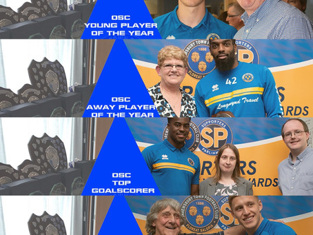 Shrewsbury Town Supporters of the Year Awards