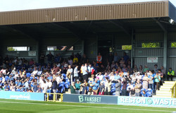 Town fans take their seats