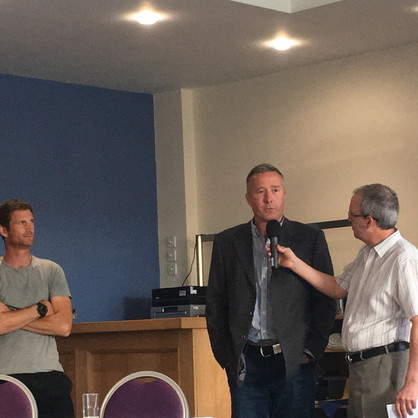 John Filan answers questions from th