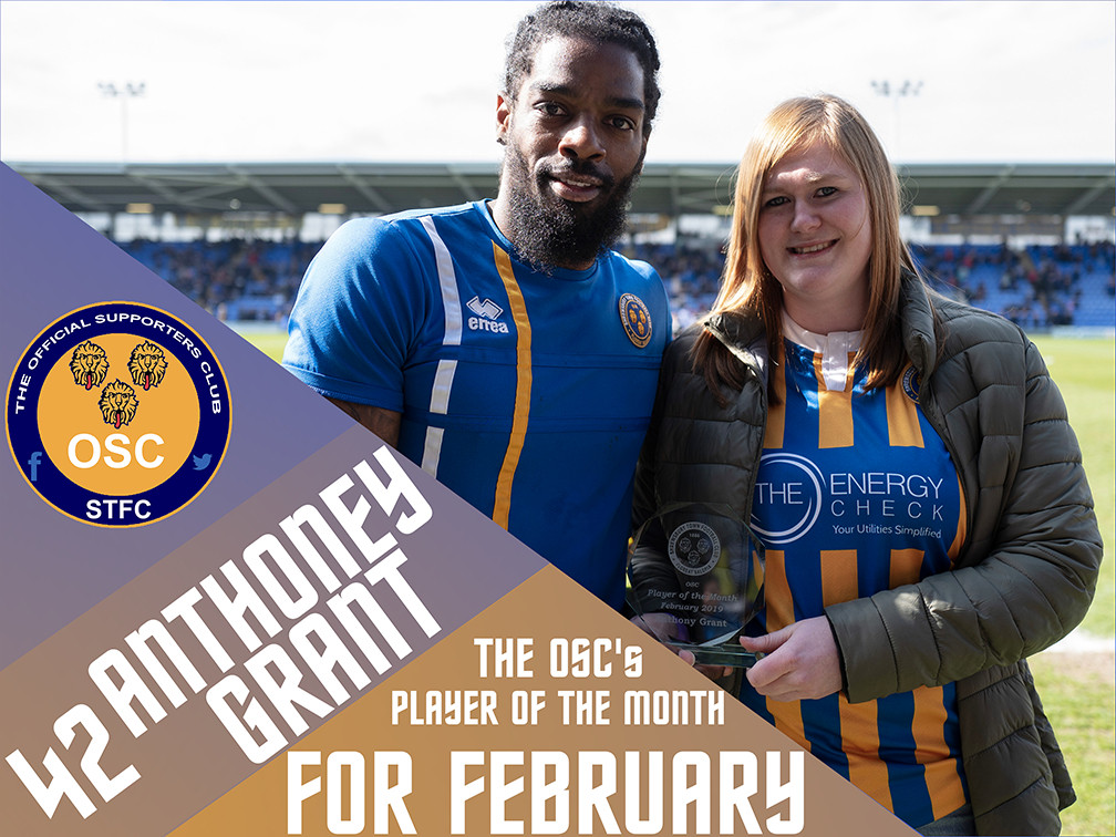 OSC's Player of the Month for March