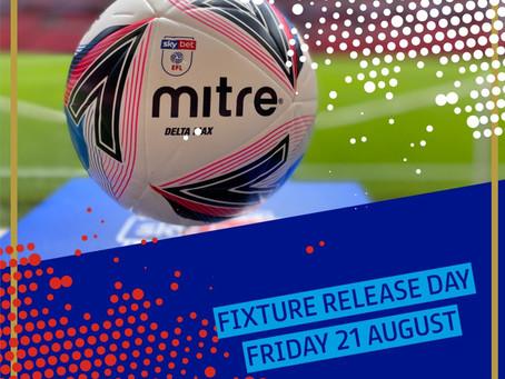 Fixtures release date