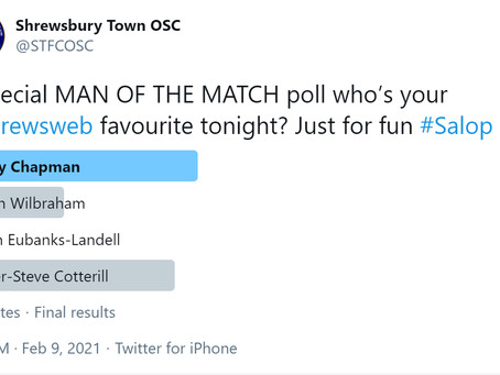 Man of the Match for Sunderland at the Meadow is...