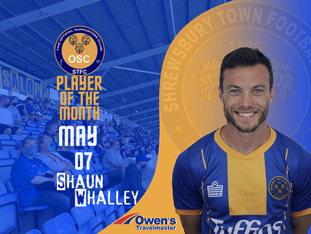May's Player of the Month is