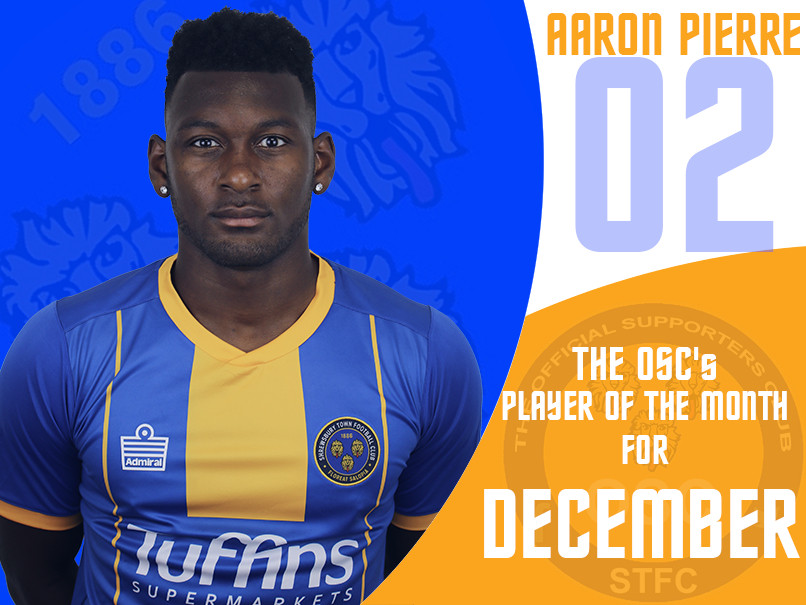 OSC's Player of the Month for December
